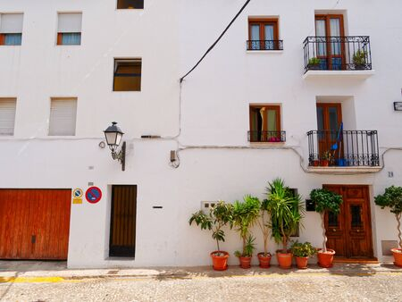 Beautiful old town in Altea. Costa Blanca, Spain. Banque d'images - 129952143
