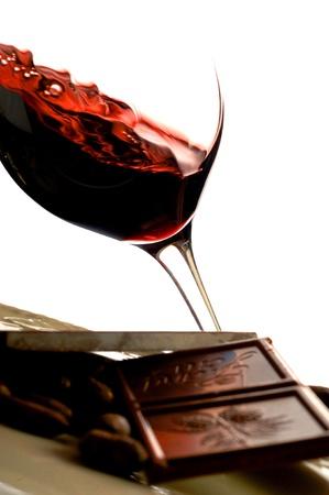 Red wine Chocolate Stock Photo - 10181657