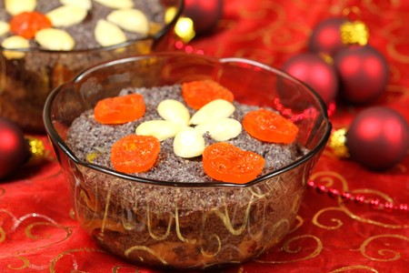 Traditional Christmas food in Poland - dessert photo