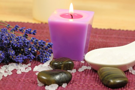 Spa still life. Aromatherapy treatment for beauty and relax photo