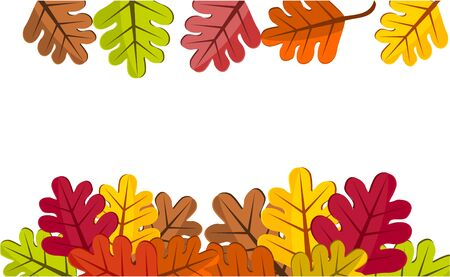 Autumn leaves frame Stock Photo - 8173739