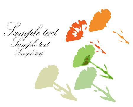 cempasuchil: Fondo de flores de cal�ndula pintado