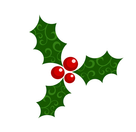 Holly berry - Christmas symbol illustration Stock Vector - 8444007