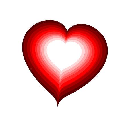 laminated: red heart laminated