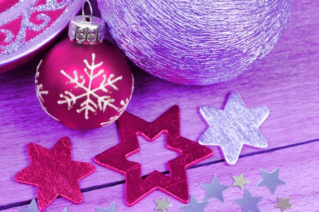 Christmas ornaments photo