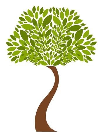 Tree illustration Vectores