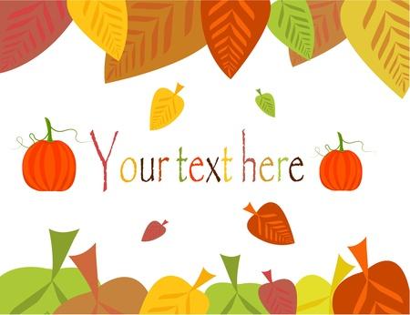 październik: Kolorowe jesieni opuszcza ramki z dynie