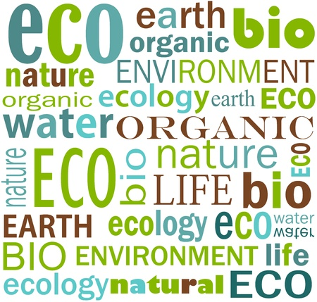 bio: Eco friendly texture - earth and water.