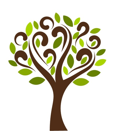 green life: Tree - vector illustration Illustration