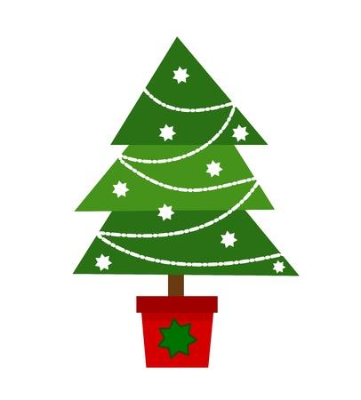 navidad navidad: Christmas tree illustration