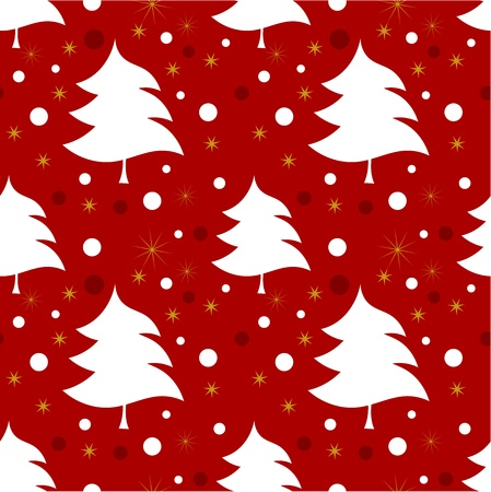 Seamless Christmas pattern. Vector