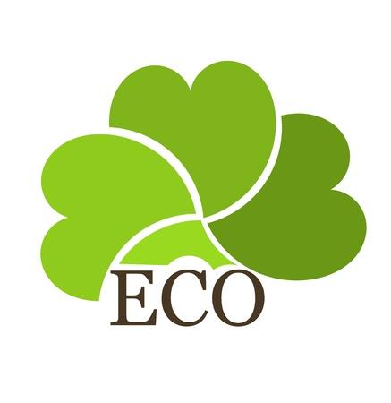 ecological: Eco concept creative design. illustration Illustration