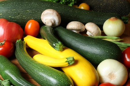 Fresh vegetables variety photo