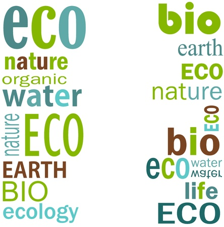Ecology border  Vector