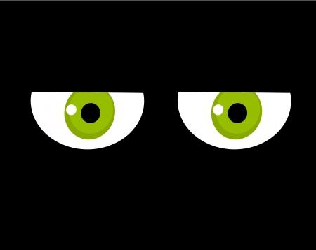 malcontent: Sad looking green eyes