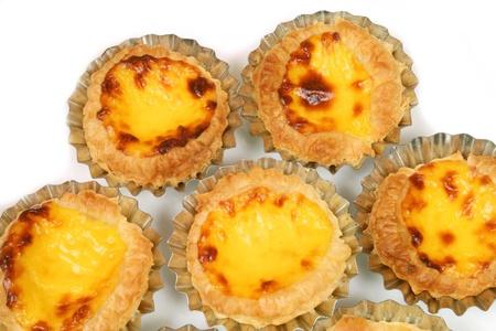 nata: Egg tarts - traditional Portuguese pasteis de nata