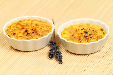 creme: Creme brulee with lavender