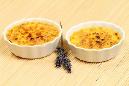 brulee: Creme brulee with lavender