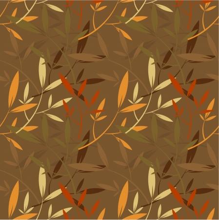 Autumn wallpaper texture - seamless pattern Stock Vector - 14957608