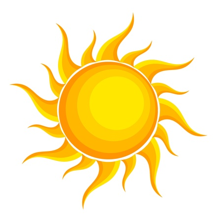 Sun. Vector illustration Vector