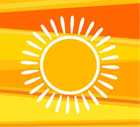 Sunny background. Vector illustration Vector