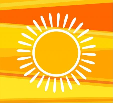 Sunny background. Vector illustration Stock Vector - 15027385