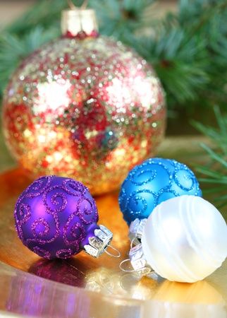 Christmas ornaments Stock Photo - 16016429