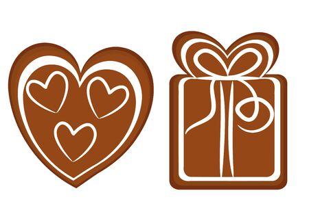 christmas cookies: Gingerbread Christmas cookies