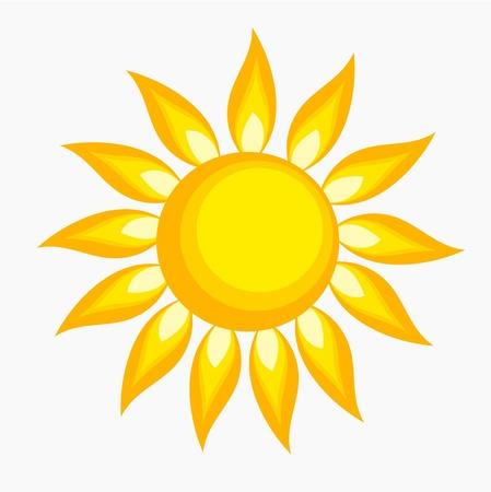 The sun -  illustration Stock Vector - 17389775