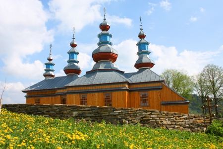 Eastern Orthodox Church in Komancza, south-eastern Poland photo