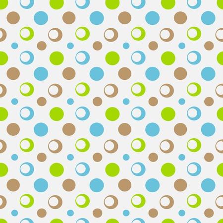 Seamless dot pattern. Vector illustration