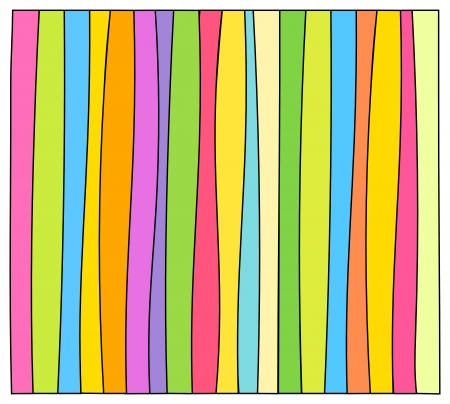 Colorful striped background. Vector illustration Vector