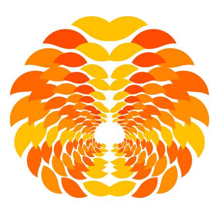 Autumn leaves pattern - vector illustration Stock Vector - 22972768