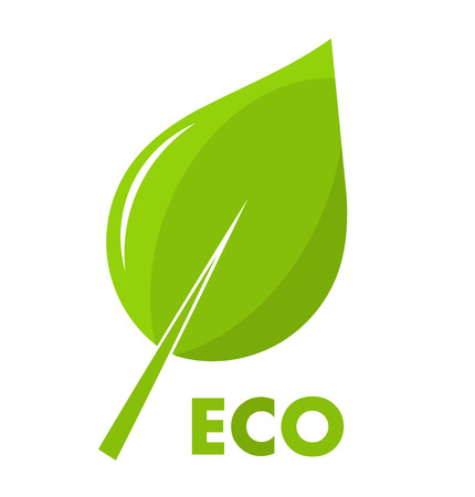 Leaf icon. Eco concept vector illustration Vector