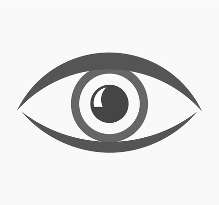 Abstract eye icon. Vectori illustration Vector