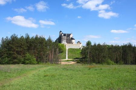bobolice: Medieval castle in Poland - Bobolice, Jura Krakowsko-Czestochowska Editorial