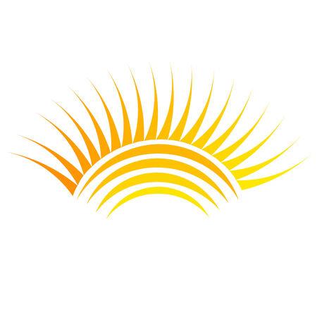 Sun symbol illustration Vector