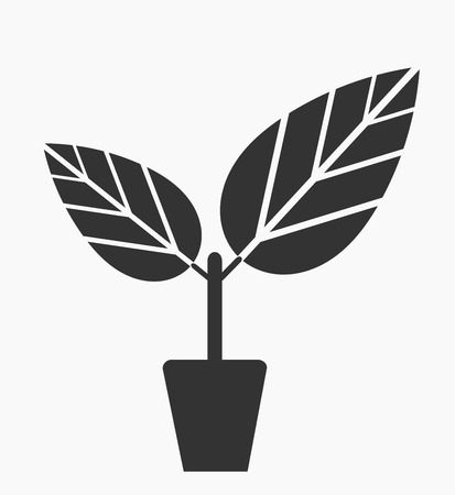 germinate: Plant in the pot icon.