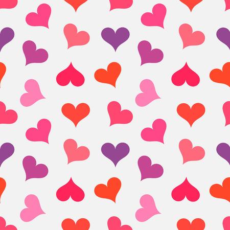 love wallpaper: Hearts seamless pattern.