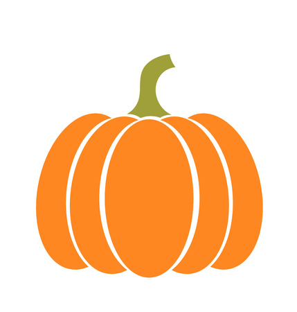 Pumpkin icon. Vector illustration