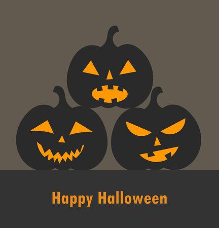 jack o' lantern: Jack o lantern Halloween pumpkins background.