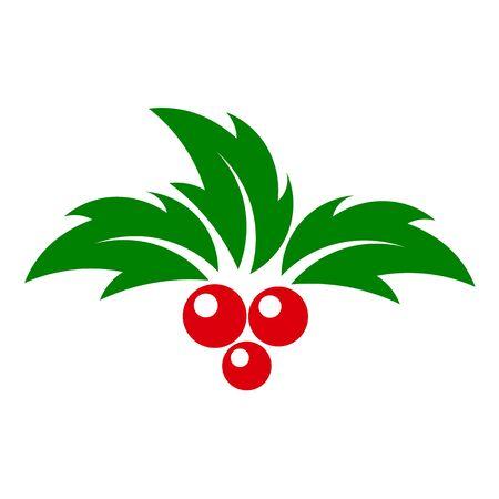 aquifolium: Holly berry vector Illustration