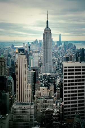 맨하탄 스카이 라인보기