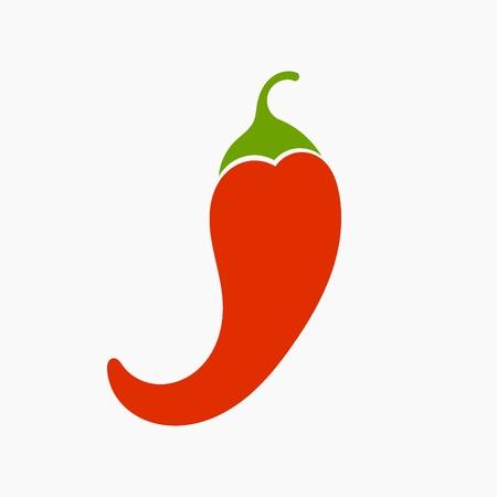 chilli pepper: Red chilli pepper. Vector illustration