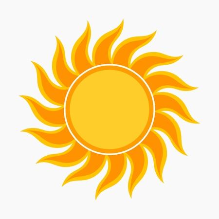 sun star: Sun vector illustration