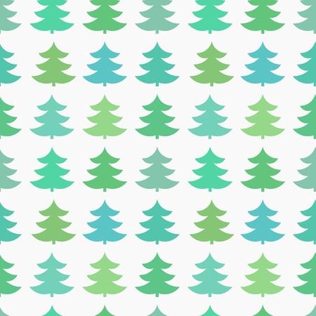 tree texture: Christmas tree seamless texture. Vector illustration Illustration