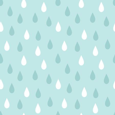 Rain pattern. Vector illustration