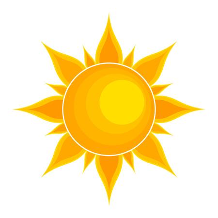 sun vector: Sun. Vector illustration