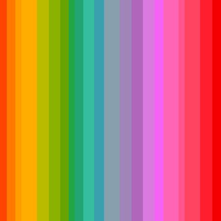Rainbow colors stripes seamless pattern. Vector illustration