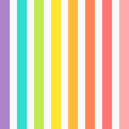 Rainbow colors stripes background. Vector illustration